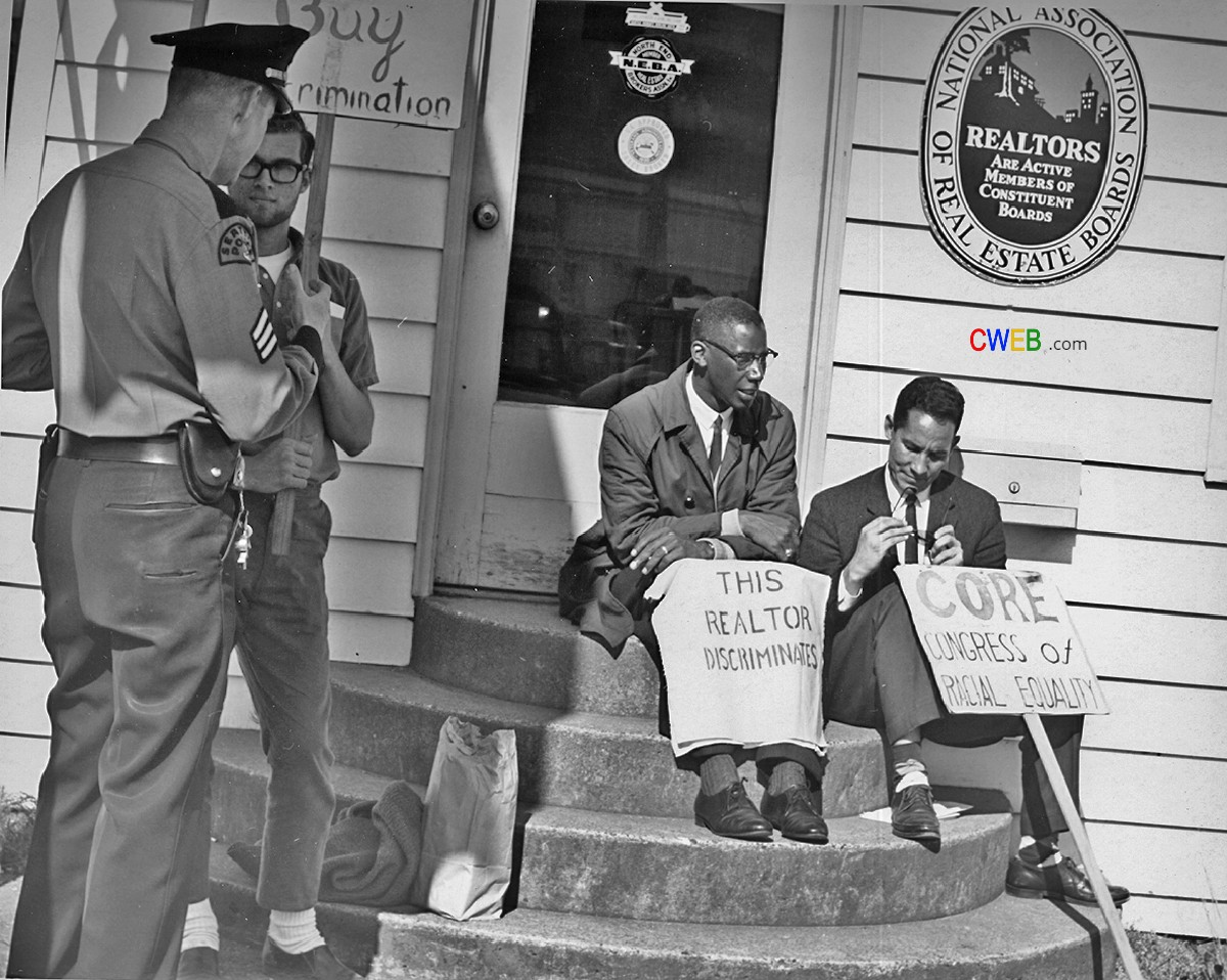 Fair_housing_protest,_Seattle,_1964