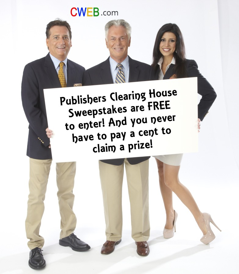 Publishers-Clearing-House-Sweepstakes-are-FREE-to-enter